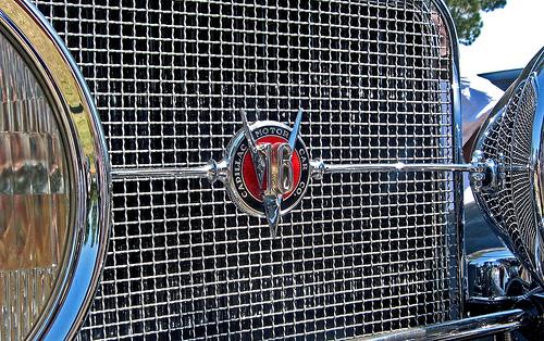 1931 Cadillac V16 Sport Phaeton grille