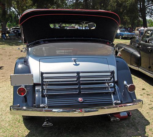 1931 Cadillac V-16 Special Phaeton rear
