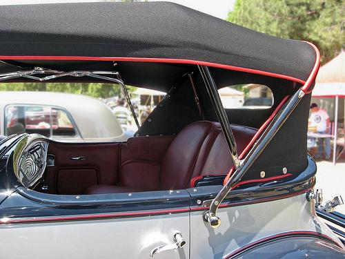1931 Cadillac V-16 Special Phaeton roof