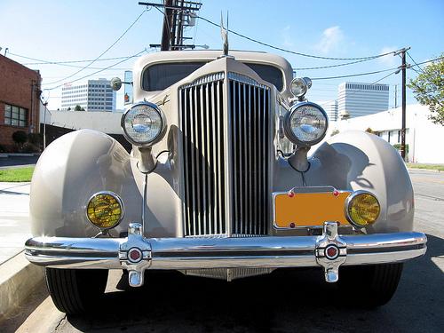 1936 Packard One Twenty front view