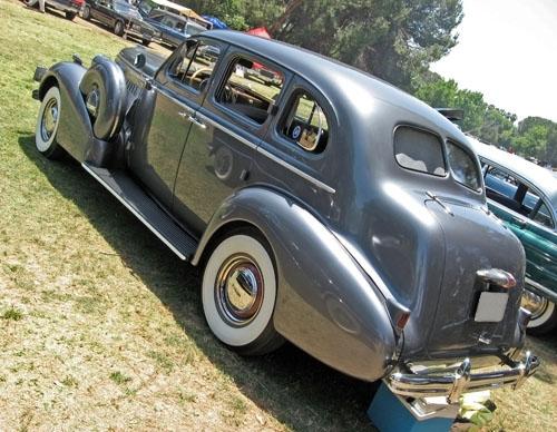 1937 Buick Century rear 3q