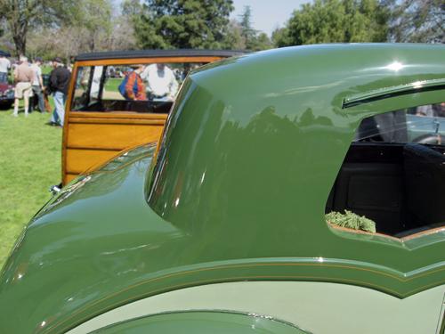 1938 Rolls-Royce 25/30 saloon Hooper roofline