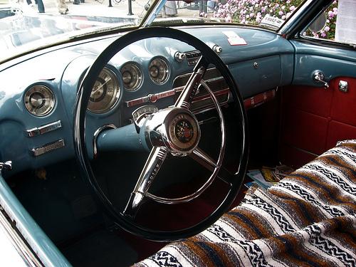 1949 Buick Roadmaster Riviera dashboard