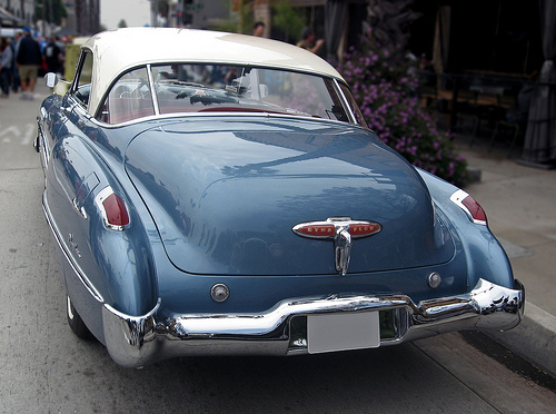 1949 Buick Roadmaster Riviera rear