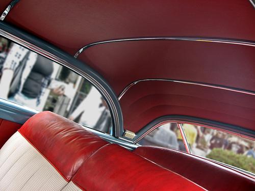 1949 Buick Roadmaster Riviera roof interior
