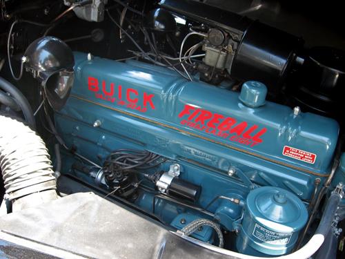 1949 Buick Roadmaster sedanet engine