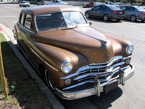 1949 Dodge Coronet front 3q