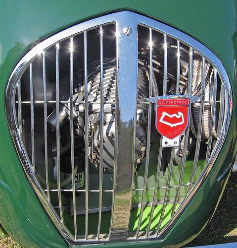 1950 Healey Silverstone grille