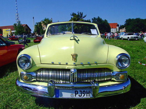 1950 Mercury convertible front © 2007 ChiemseeMan / Späth Chr. PD