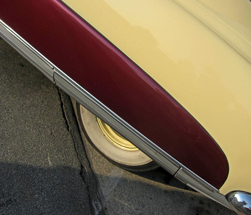 1951 Hudson Pacemaker fender