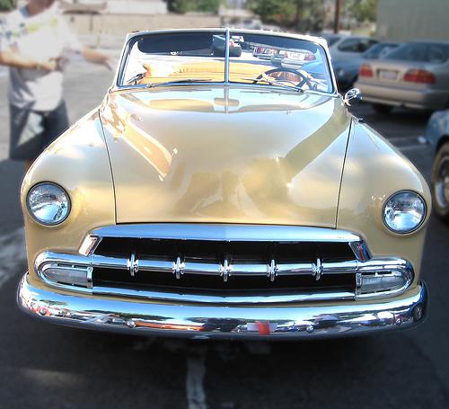 1952 Chevrolet DeLuxe convertible front