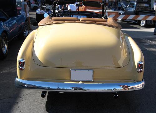 1952 Chevrolet DeLuxe convertible rear