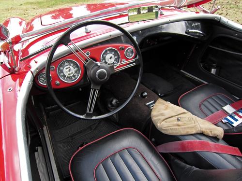 1953 Austin-Healey 100 dash
