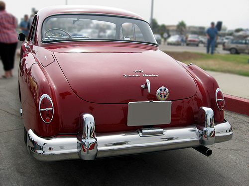 1953 Nash-Healey Le Mans rear