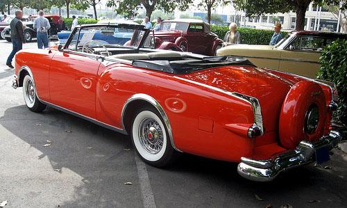 1953 Packard Caribbean rear 3q © 2010 Aaron Severson