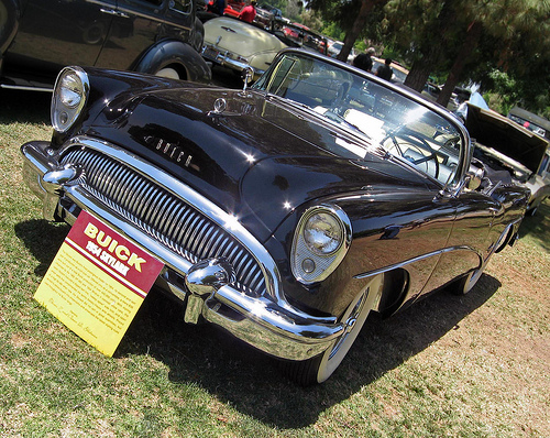 1954 Buick Skylark front