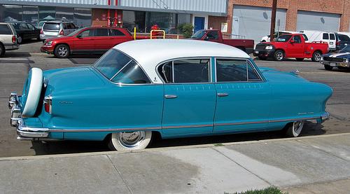 1954 Nash Ambassador Custom side