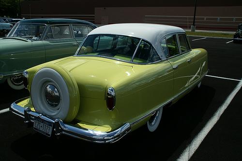 1954 Nash Rambler Custom sedan rear 3q © 2009 Jim Duell Jr. (used with permission)