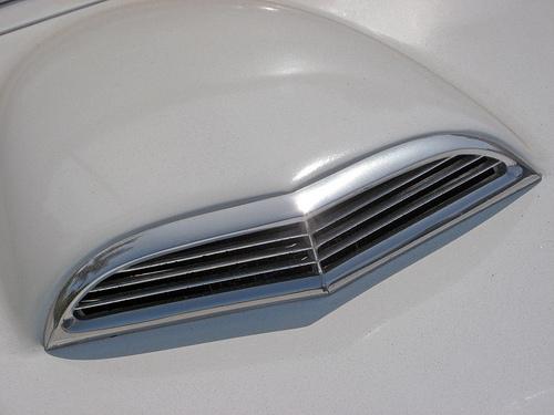 1955 Ford Thunderbird hood scoop