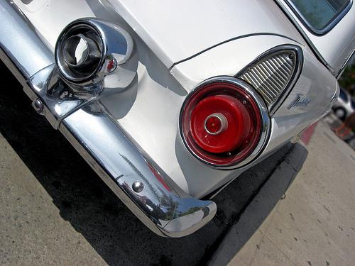 1955 Ford Thunderbird taillight
