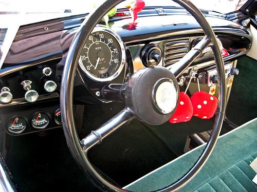 1957 Nash Metropolitan dash