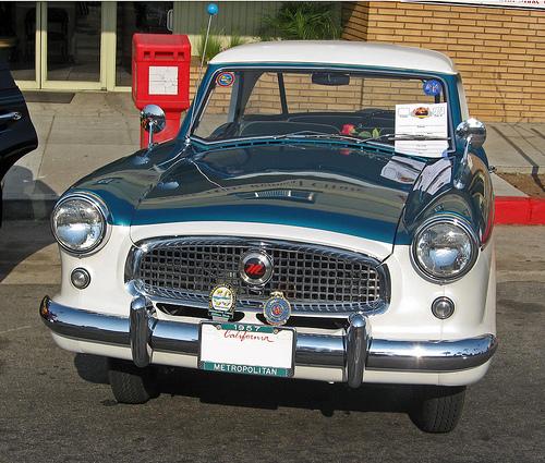 1957 Nash Metropolitan front
