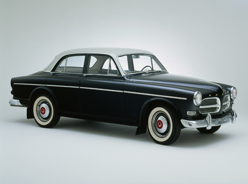 1957 Volvo 122 sedan front 3q Volvo Cars 5612_1_5