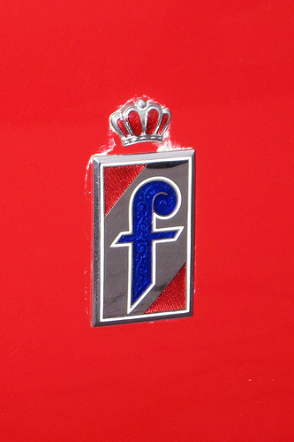 1958 Alfa Romeo Giulietta Pininfarina badge
