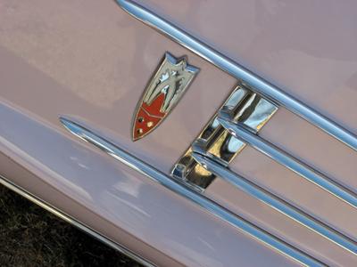 1958 Oldsmobile Ninety-Eight Holiday Coupe badge