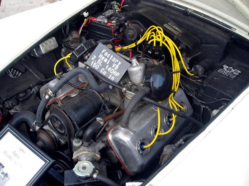 1959 Daimler Dart SP250 V-8 engine © Aaron Severson