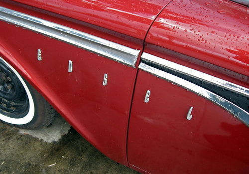 1959 Edsel Ranger Edsel badge