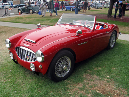 1960 Austin-Healey 3000 front 3q