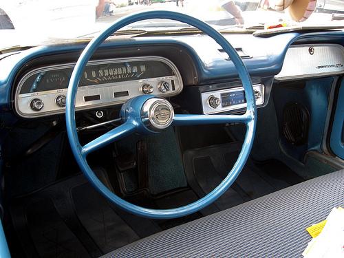 1960 Chevrolet Corvair dash