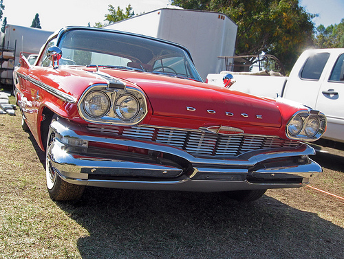 1960 Dodge Polara front