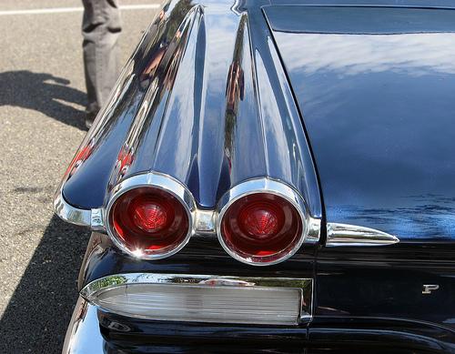 1960 Pontiac Catalina taillights © 2009 Aaron Severson