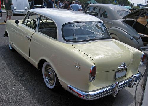 1960 Rambler American Deluxe rear 3q