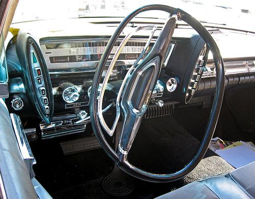 1961 Imperial LeBaron Southampton dashboard