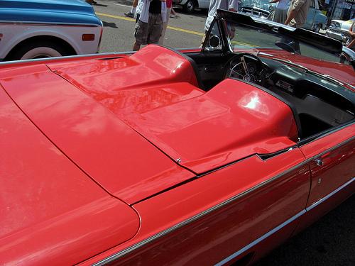 1962 Ford Thunderbird Sports Roadster tonneau rear