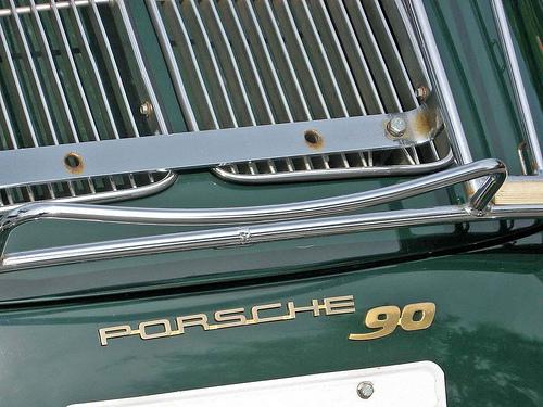 1962 Porsche 356B Super 90 badge