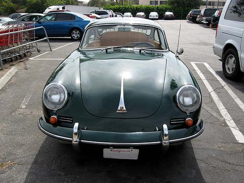 1962 Porsche 356B Super 90 front