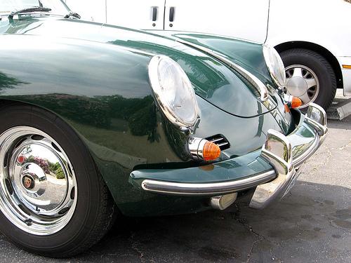 1962 Porsche 356B Super 90 nose