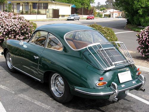 1962 Porsche 356B Super 90 rear 3q left