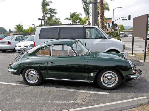 1962 Porsche 356B Super 90 side