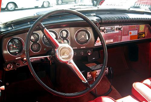 1962 Studebaker GT Hawk dash