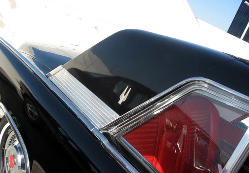 1962 Studebaker GT Hawk rear 3q roof