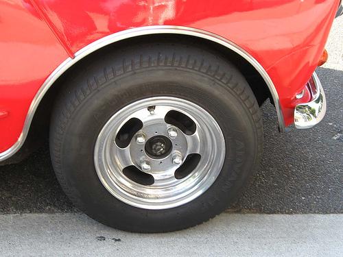 Mini Cooper front wheel