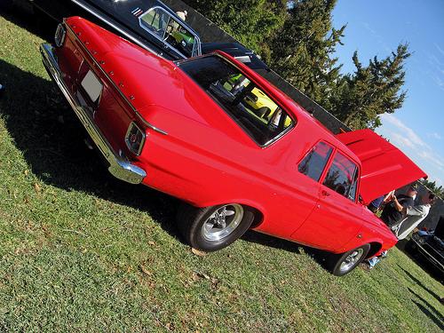 1963 Plymouth Savoy rear 3q
