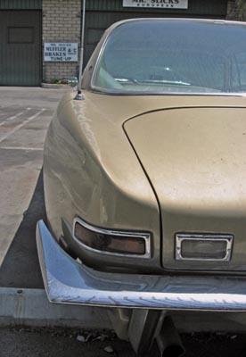 1963 Studebaker Avanti rear fender