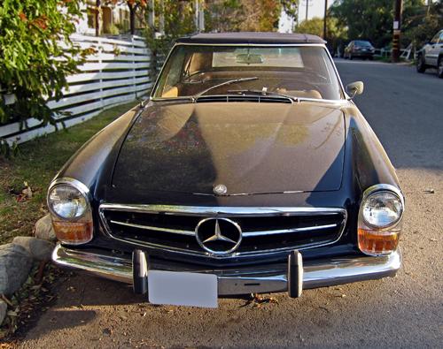 Mercedes 230SL (W113) front