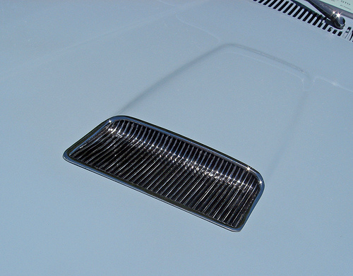 1964 Pontiac GTO hood scoop
